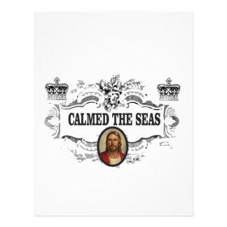 fancy calmed the seas jc letterhead