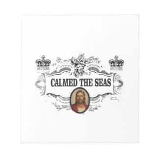 fancy calmed the seas jc notepad