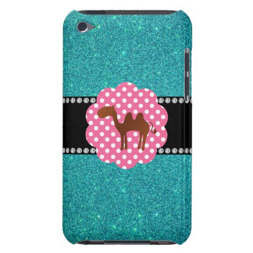 Fancy camel turquoise camel iPod touch cover