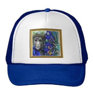 Fancy Carnival Mask 1 Cap Trucker Hat