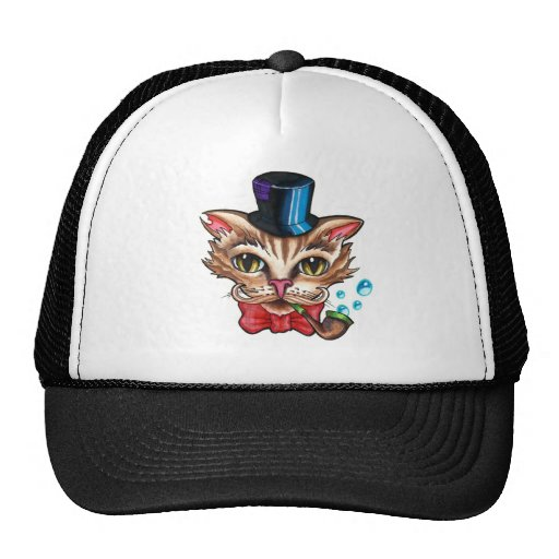 fancy cat hat