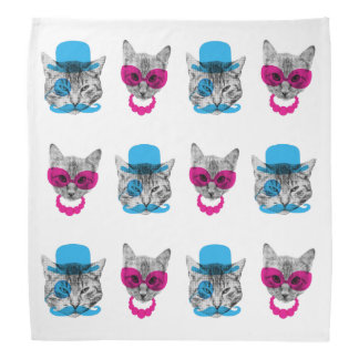 Fancy Cats Bandana