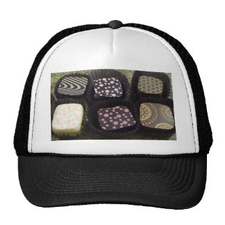 Fancy Chocolates Mesh Hats