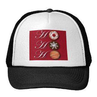 Fancy Christmas Hohoho Cookies Trucker Hat