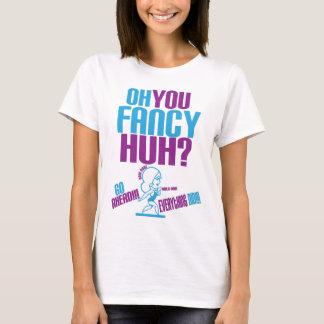 fancy colorways prurple, light blue T-Shirt