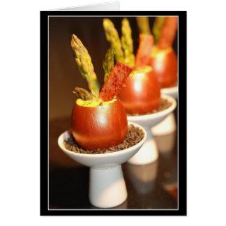 Fancy Copper Eggs Card