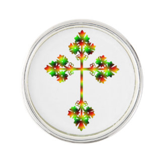 FANCY CROSS LAPEL PIN