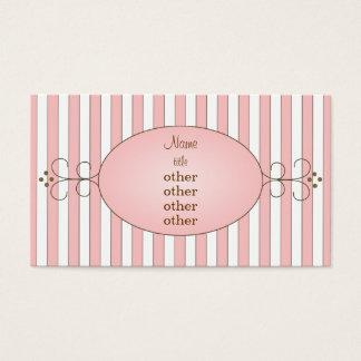 Fancy Cupcake Business Card