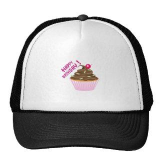 FANCY CUPCAKE TRUCKER HAT