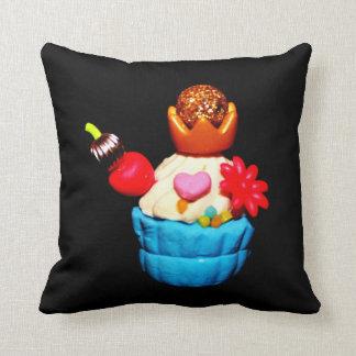 Fancy Cupcake Throw Pillow