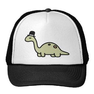 Fancy Dinosaur Trucker Hat