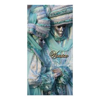 Fancy Dress Couple Costumes Photo Card