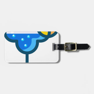 Fancy Drink Luggage Tag
