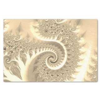 Fancy Elegant Fractals With Cool Mandala Patterns Tissue Paper