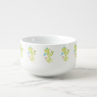Fancy Fairie Soup Bowl