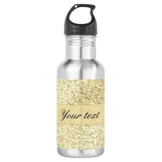 Fancy Faux Gold Glitter Personalized