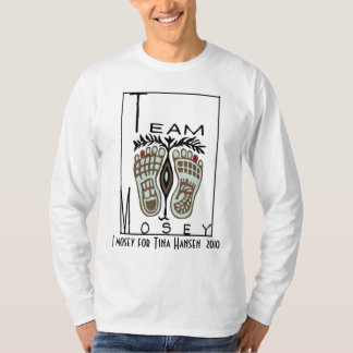 Fancy Feet Long Sleeve T-Shirt