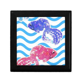 fancy fish jewelry box