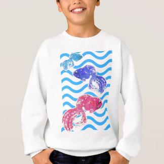 fancy fish sweatshirt