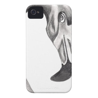 Fancy Flamingo iPhone 4 Case-Mate Case