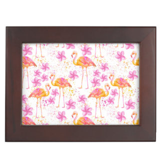 Fancy Flamingo Memory Box