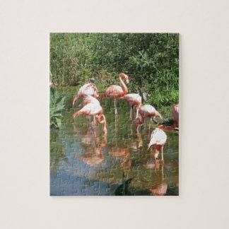 Fancy Flamingo's Jigsaw Puzzle