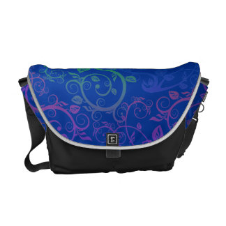 Fancy Floral Commuter Bag