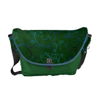 Fancy Floral Courier Bag