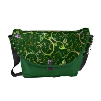 Fancy Floral Courier Bags