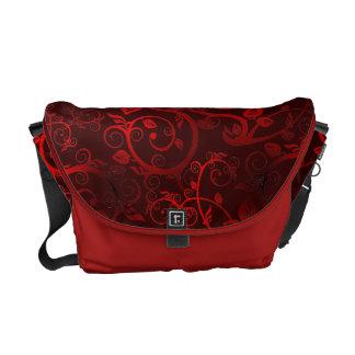 Fancy Floral Messenger Bags