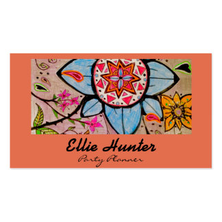 Fancy Floral & Paisley Custom Business Cards