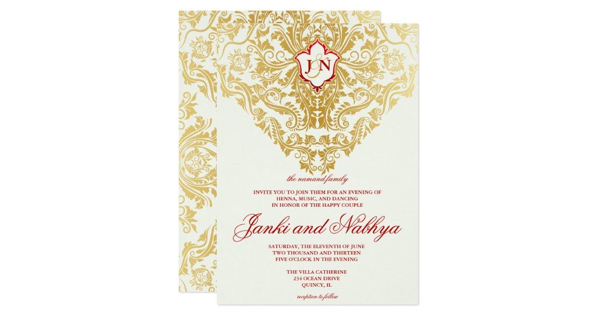 fancy indian wedding invitation wording - 28 images - fancy ...