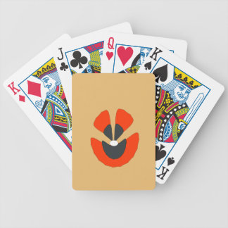 fancy flower bicycle playing cards