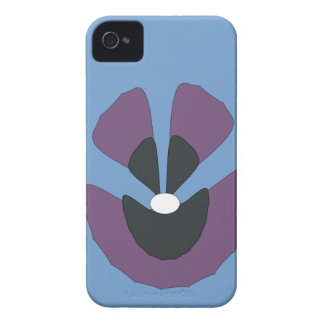 fancy flower iPhone 4 Case-Mate cases