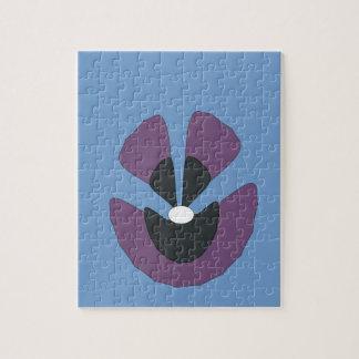 fancy flower jigsaw puzzle