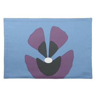 fancy flower placemat
