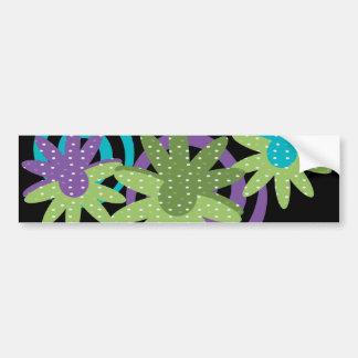Fancy Flowers Bumper Sticker
