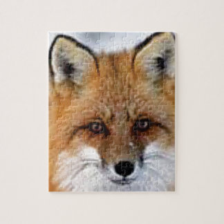 fancy fox picture jigsaw puzzle