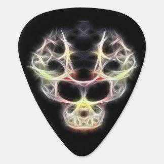 Fancy fractalius skull pick