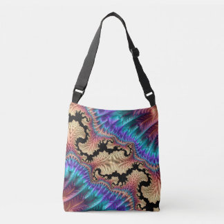 Fancy & Fun Fractals With Cool Mandala Patterns Crossbody Bag