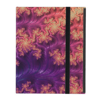 Fancy & Fun Fractals With Cool Mandala Patterns iPad Case