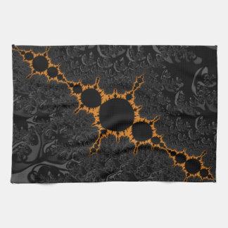 Fancy & Fun Fractals With Cool Mandala Patterns Kitchen Towel