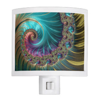 Fancy & Fun Fractals With Cool Mandala Patterns Nite Light