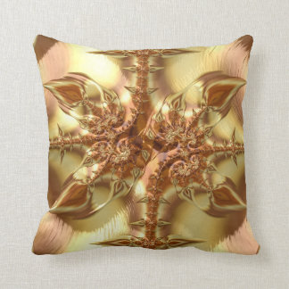 Fancy & Fun Fractals With Cool Mandala Patterns Throw Pillow