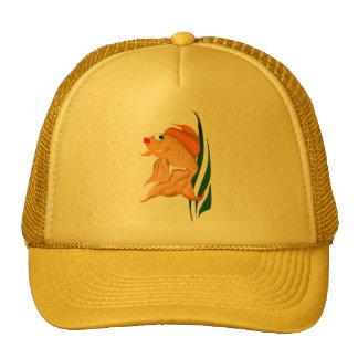 *Fancy Gold Fish Trucker Hat