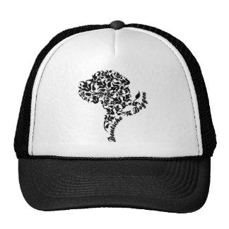 Fancy Great Dane Portrait Trucker Hat
