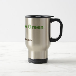 Fancy Green Stainless Travel Mug