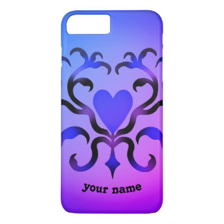 Fancy heart design iPhone 8 plus/7 plus case