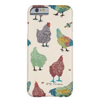 Fancy Hens funny pattern phone case
