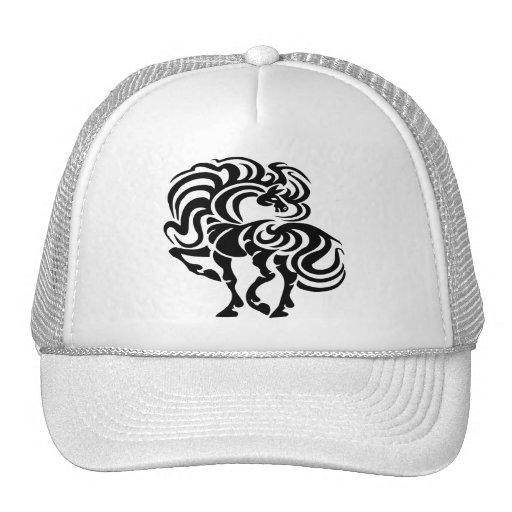 Fancy Horse Design Trucker Hats